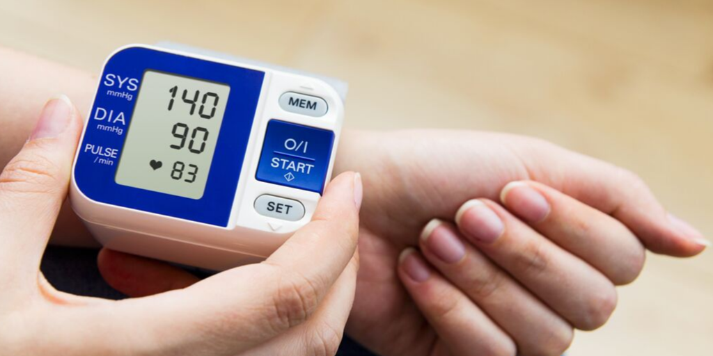 Blood pressure readings from 140/90 mmHg is abnormal.  If this persists, it is referred to as hypertension.